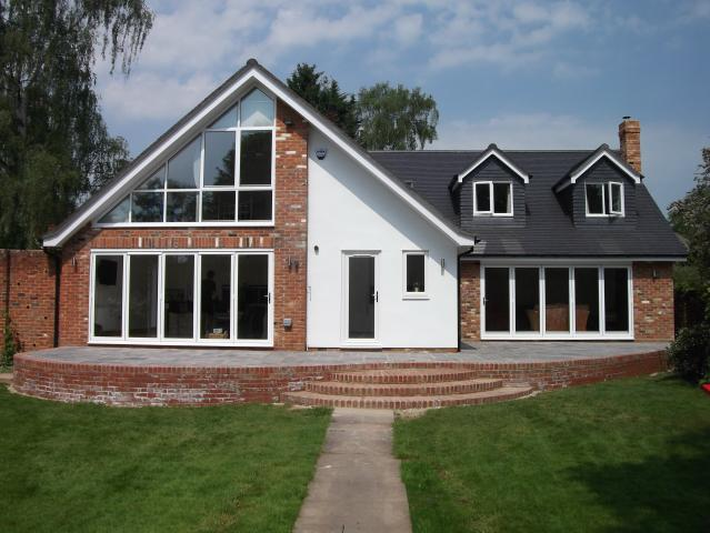 Large house remodelling the christopher hunt practice for Chalet bungalow designs