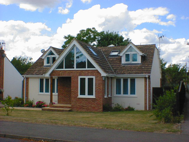 Previous schemes gallery the christopher hunt practice for Chalet bungalow designs