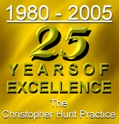 logo the christopher hunt practice